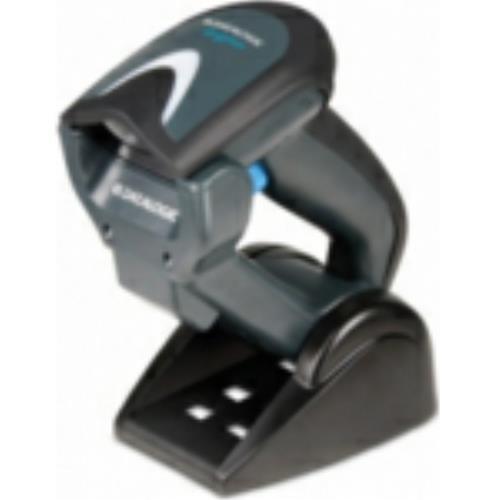 Datalogic gryphon i lecteur de codes barres gBT 4130 sans fil (bluetooth)-couleur-scanner : blanc + rS232, câble d'alimentation et de chargement/base (gBT4130–bK-bTK2)