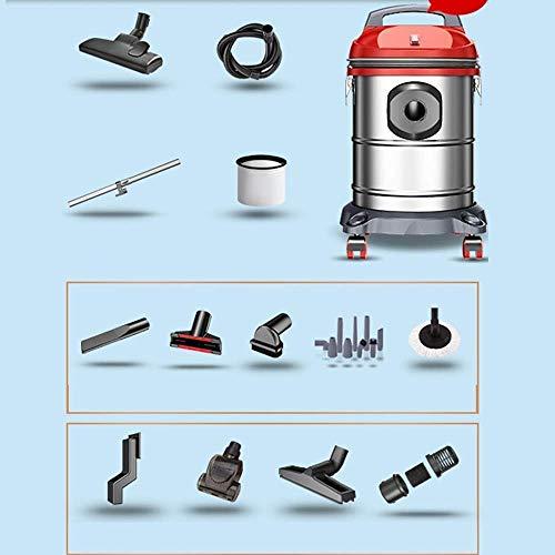 Limpiador de aspiradora inalámbrica Aspiradora - Filtro de agua de acero inoxidable Hogar pequeña Máquina de succión de soplado pequeño y húmedo de alta R de vacío, disponible en 3 estilos Limpiador d