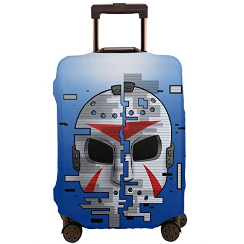 H20-mask-Delirious Travel Luggage Cover Suitcase Protector Washable Anti-Scratch Stretchy Baggage Covers