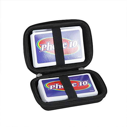 Hard Travel Case for Phase 10 Card Game