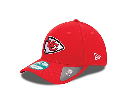 New Era Herren Herren Kappe 9Forty Kansas City Chiefs Kappe, Rot, OSFA, 10517880
