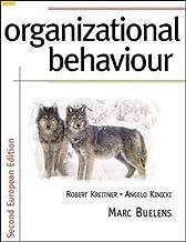 Organizational Behaviour: European Edition