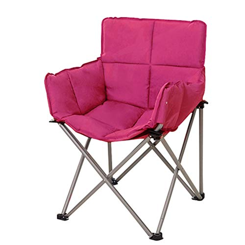 LSF Mobiler Mondstuhl Fauler Klappstuhl Tragbare Falten Saucer Padded Moon Chair Comfort Wohnzimmer Schlafzimmer Gartenmöbel Camping (Color : C)