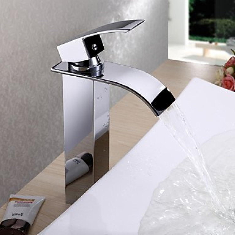 SEBAS Home Waschtischarmatur Wasserhahn Waschbecken Wasserhahn Design Messing (hoch) Wasserhahn Mischbatterie
