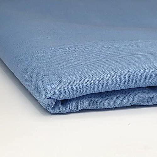 Bestdeal Sikh Turban : Light Blue Color - Full Voile (6 Meters)