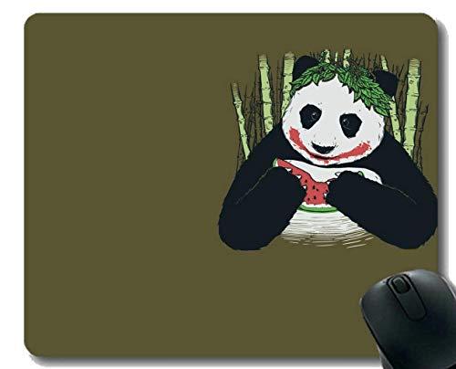 Yanteng Mauspad mit genähter Kante, Kochbuch Animal Panda, Mausmatte, rutschfeste Gummibasis Mousepad für Laptop, Computer