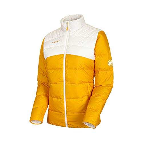 Mammut Damen Whitehorn Daunen-Jacke, golden-Bright White, M