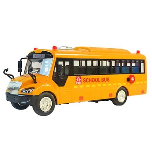 Lihgfw Simulation Große Schule Busschule Bus Spielzeug Auto Kinderbusbus Bus BAIN BAIN Trager INERRACT CAR Birthday Geschenk für Kinder über 2 Jahre 29cm (Color : Yellow)