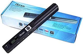 Tobo Portable Scanner iSCAN 900 DPI A4 Document Scanner Handheld for Business, Photo, Picture, Receipts, Books, JPG/PDF Fo...