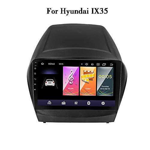 LHWSN Für Hyundai IX35 Android 9.0 Auto Stereo Bluetooth-GPS-Navigation WiFi FM AM/RDS HiFi AUX SWC-Autoradio 9