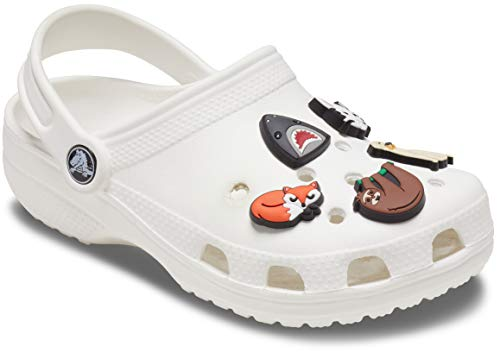 Crocs Jibbitz Shoe Charm 5-Pack | Personalize with Jibbitz for Crocs Animal Lover One-Size