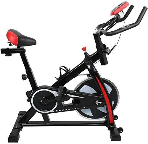 RUN Hogar Bicicleta estática, 92 * 49 * 106 cm silencioso Fácil de Usar/Carga máxima 150 kg/para el Entrenamiento Diario El Ejercicio aeróbico/Pata/Ejercicio de la Yoga