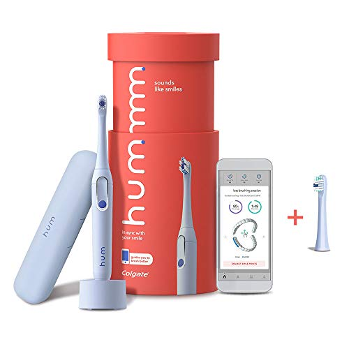 powerful Colgate Smart Electric Toothbrush Kit Ham, Rechargeable Sonic Toothbrush with Travel Case …