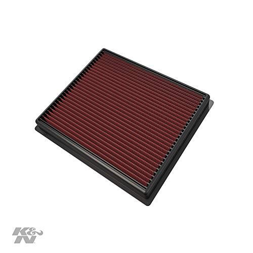 K&N 33-5017 Waschbarer und wiederverwendbarer KFZ Tauschluftfilter