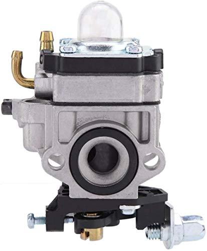 ZKWWT Carburador Carb Strimmer Cortasetos Desbrozadora Motosierra Carburador Motosierra Cortasetos Reemplazo para mástil de Motor 33CC 36CC