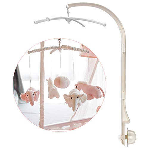 Baby Crib Mobile Holder Cot Arm Bracket 28.7 inches Baby Bed Stent Set for Baby Boys and Girls