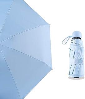 Umbrella Windproof Umbrella Folding Sun Protection UV Protection Folding Dual Purpose 6 (Size : C)