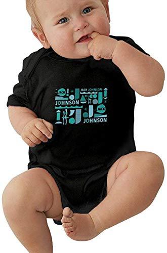 Dmode Jack Johnson Baby Bodysuit Unisex Infant Sport Jersey Bodysuits Summer Round Neck Short Sleeve Top