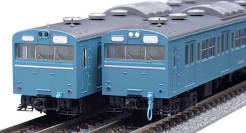 TOMIX Nゲージ 103系 高運転台ATC車 スカイブルー 基本セット 92585 鉄道模型 電車