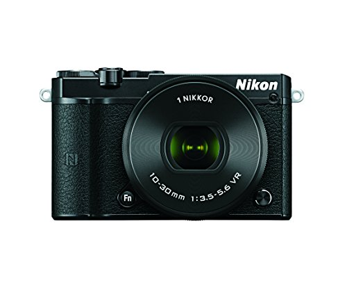 Nikon 1 J5 Mirrorless Digital Camera w/ 10-30mm PD-ZOOM Lens (Black)