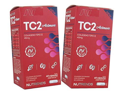 Kit 2 Actmove Uc2 - Colágeno Tipo 2 Original 120 Cápsulas