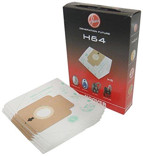 Hoover Staubsauger H64 Staubbeutel (Packung mit 5 Stück) – 09200245