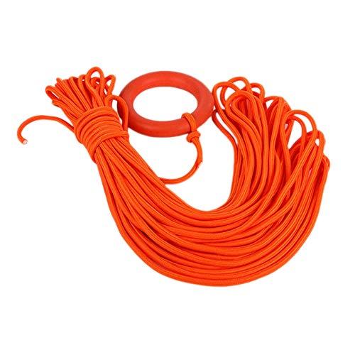 Naliovker Au?En Wasser Rettungs Schnorchel Seile 30 Meter Lifeline Kletter Sicherheit Schwimmendes Schwimm Seil mit Armband