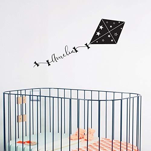Gebruikergedefinieerde kinderkamer muurtattoo naam en draak muurtattoo Home decor citaat wandtattoo kinderkamer decor baby naam decals