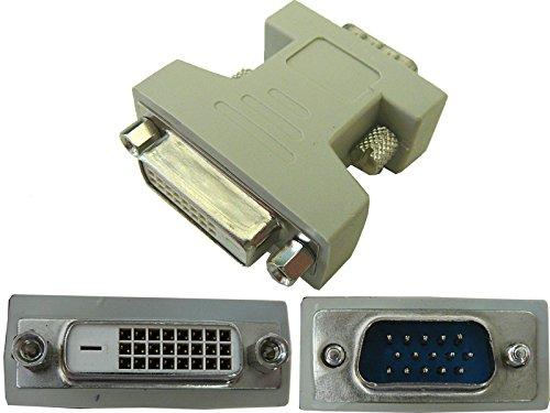 Kalea Informatique - Adaptador DVI hembra (DVI-D 24+1), VGA macho (SUB 15)