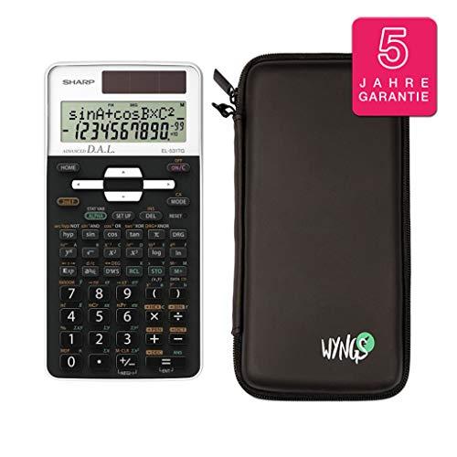 Sharp EL 531TG Weiß + SafeCase Schutztasche + Garantieverlängerung auf 60 Monate
