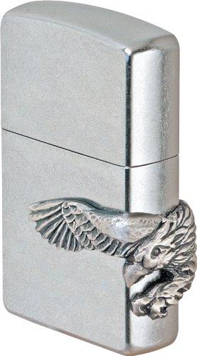 Zippo Zippo Feuerzeug 2000850 Eagle Emblem Benzinfeuerzeug, Messing
