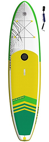 Naish Crossover Air 10'6 LT SUP 2018 Standup Paddel Board, Wind SUP, gonfiabile, con SUPwave.de Coil-Leash, Stand Up Paddle Board iSUP