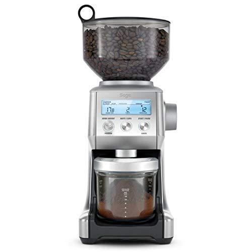 Sage BCG820BSSUK the Smart Grinder Pro Coffee Grinder - Silver