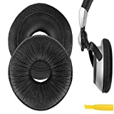 Geekria almohadillas para auriculares Panasonic Technics RP-DJ1200, rp-dj1205, RP-DJ1210 auriculares almohadillas/Ear Cushion/Ear Cups/orejas Cubierta (negro)