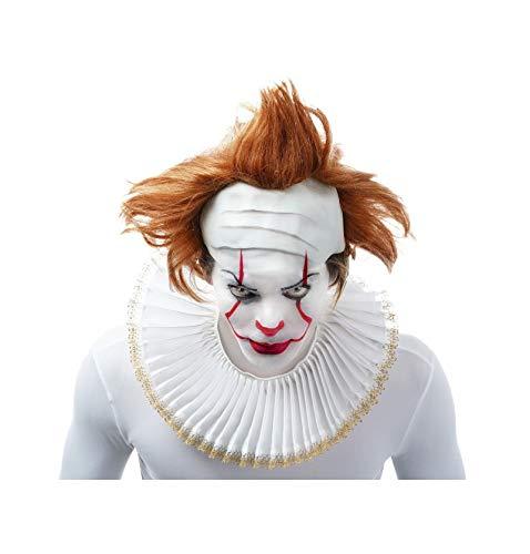 Karabu Parrucca con Calotta Pagliaccio Clown Assassino Penny