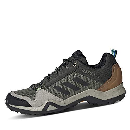 adidas Terrex AX3, Zapatillas Deportivas Hombre, Legacy Green/Core Black/Glory Blue, 42 2/3 EU