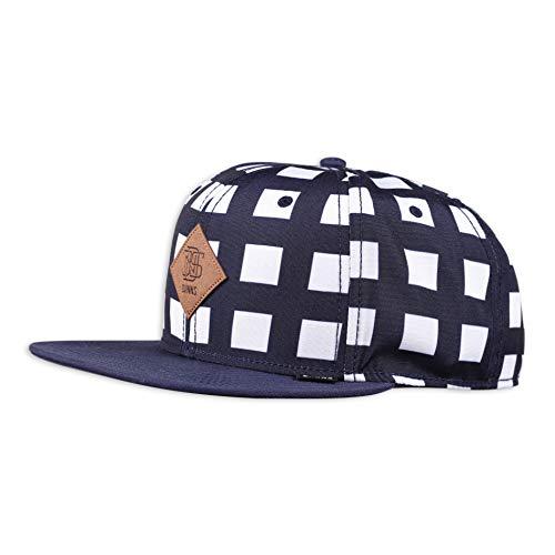 Djinns - Crazy Pattern (Grid/Dark Navy) - Snapback Cap Baseballcap Hat Kappe Mütze Caps