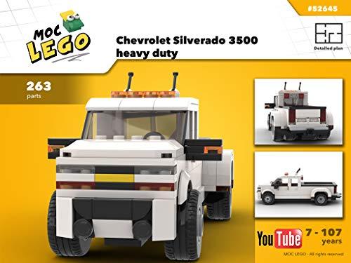 Chevrolet Silverado 3500 heavy duty (Instruction Only): MOC LEGO