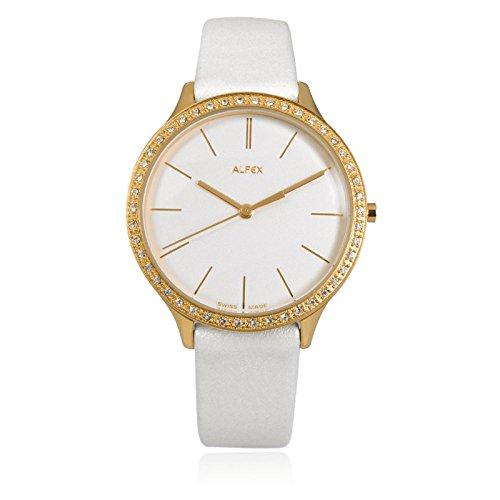 Alfex 5644/781 5644781 - Reloj de Pulsera para Mujer, Correa de Piel