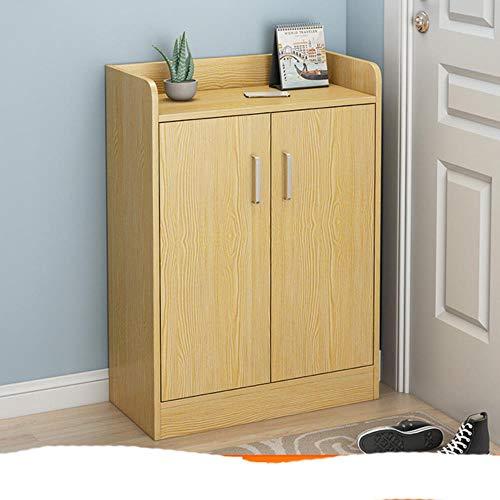 Muebles para el hogar, gabinetes de zapatos, sala de estar de m¨²ltiples capas, pasillo, gabinete de almacenamiento, dormitorio, balc¨n, zapato O-pure 60x30x75CM