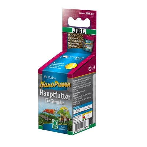 JBL Nano-Prawn 23183 Alleinfutter für kleine Garnelen, Granulatfutter 60 ml