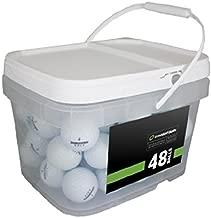 Bridgestone Tour Mix 48 Recycled Golf Balls, White (Packaging may vary)