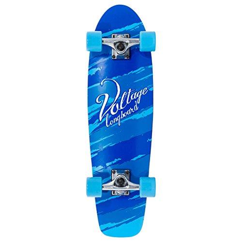 Voltage VOLLB201, Skateboard Unisex – Adulto, Blu, Taglia Unica