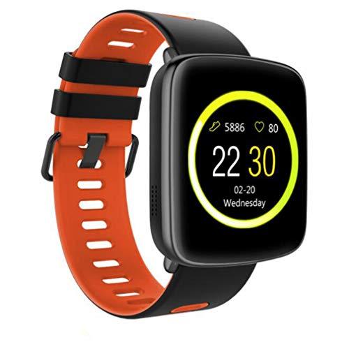 SAMGU Smartwatch Reloj Inteligente Pulsera Actividad para Android y iOS Impermeable IP68 con Pulsómetro,Cronómetro,Monitor de sueño,Podómetro,Calendario,Control Remoto de Música
