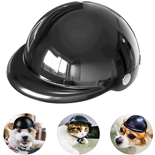 HyiFMY Casco para Perros de Mascotas, Sombreros para Perros, Motocicletas de Motocicleta...