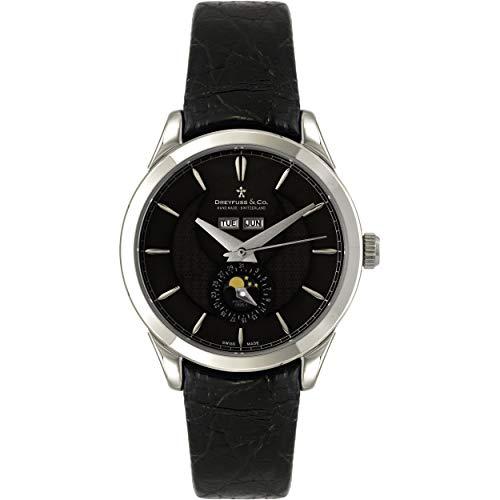 Dreyfuss & Co dgs00068/20–Orologio da uomo, cinturino in acciaio inox...