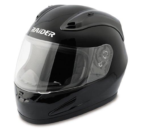 Raider Full Face Helmet (Red, XX-Large)