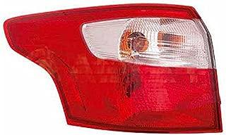 09-12 CLIO III Collection sin portal/ámparas Blanco Rojo PILOTO TRASERO Derecho REN