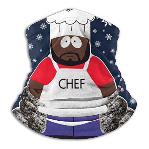 South Park Schoko gesalzene Schneebälle Weihnachten Strickmuster Gesichtsmaske staubdicht Kopfbedeckung Bandanas Sturmhaube für Radfahren Laufen Wandern