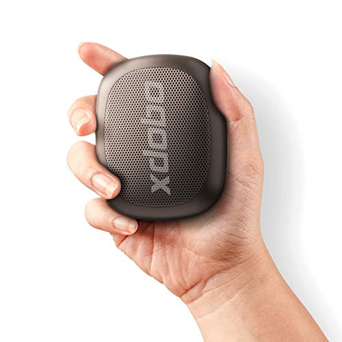 Portable Bluetooth Speaker XDOBO Wireless Waterproof Mini Travel Speaker with Power Bank Outdoor Bluetooth Shower Speaker HD Sound Stereo IPX6 for Sports Pool Beach Hiking Camping (Black)